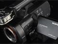 索尼NEX-VG900E搭载A卡口镜头外观展示