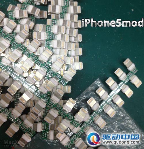 iphone5mod此前曾经推出过lightning连接线,dock和其他产品.