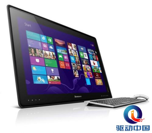 CES 联想发布27寸超级平板电脑