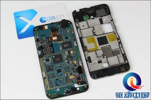 小米3移动版主板芯片位置图解