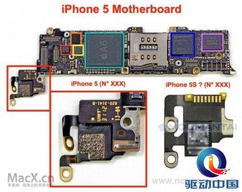 苹果4手机主板元件功能图解
