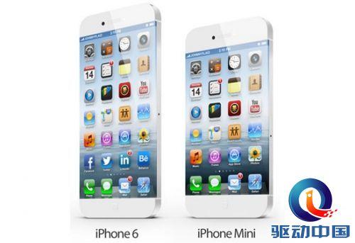全新home键+无边框设计 苹果iphone 6新概念出炉