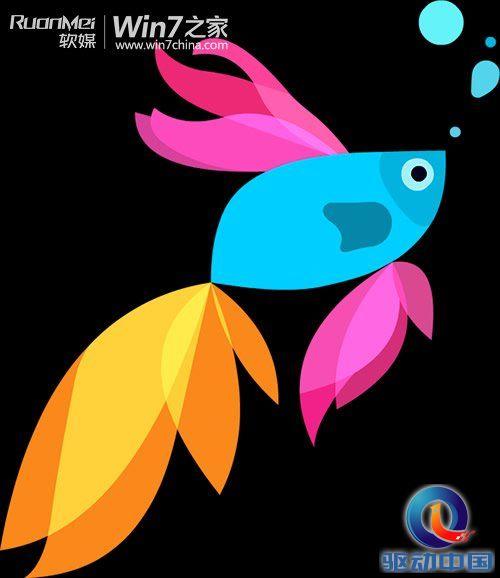 win7开机动画下载:萌,win8.1预览版betta鱼