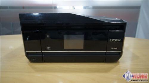 """云端""""照片控""""爱普生XP801喷墨一体机首测"""