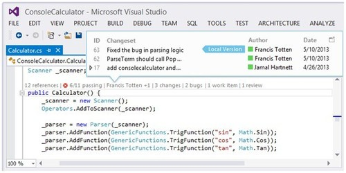 微软发布Visual Studio 2013开发工具平台