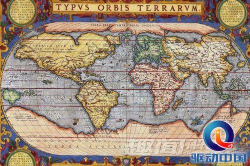 6000年前的古地图