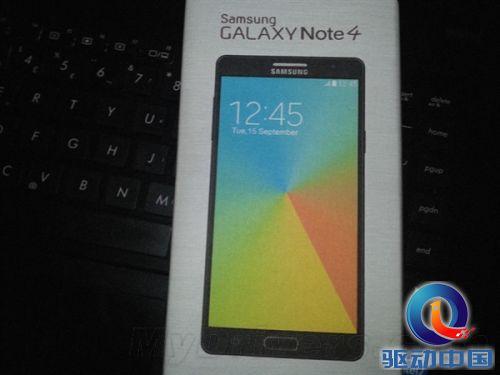 三星Galaxy Note 4外形首曝:真不错!