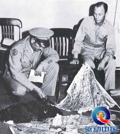 马歇尔当时的工作是调查飞机失事和其他类似事件).
