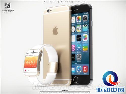 iPhone 6/iWatch高质量渲染大图:漂亮