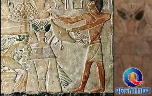 印万年前洞穴发现外星人和UFO壁画 史前壁画至今难解 19