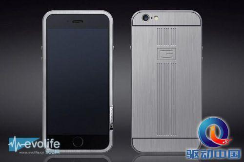 害怕iPhone 6在口袋里变形 来个钛合金保护套如何?
