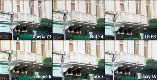 拍照样张盲测:Note 4完胜iPhone 6