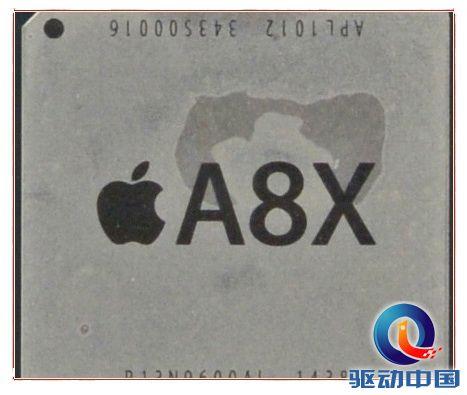 苹果A8X牛逼得无语了:全球独一无二的八核GPU!
