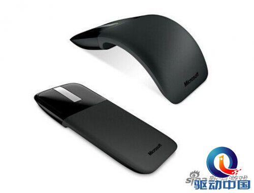 微软推出弧形鼠标