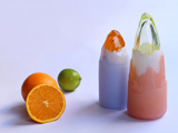 美如艺术雕塑  玻璃锥榨汁器诞生