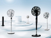 美的变频风扇26档无级调速 让清凉与健康共存