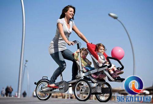 让宝宝美美去兜风 taga骑行婴儿车