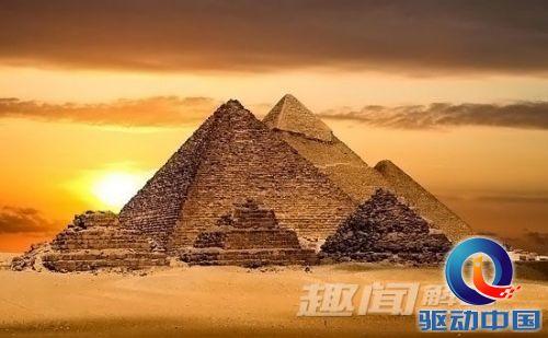 埃及金字塔中的神秘力量