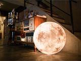 天天赏月有何难!月亮灯给家带来朦胧感