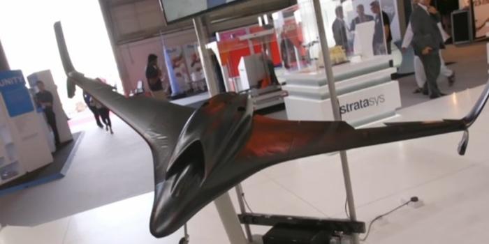 全球最快3D打印喷气式无人机亮相迪拜