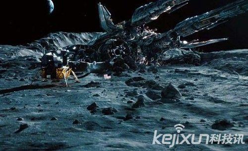 敢登月真相 因惊现外星人UFO而非三眼女尸