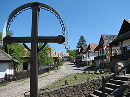 霍洛克古村落及其周围地区