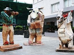 瓦杜兹雕塑
