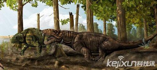 巴西惊现史前巨头兽头骨 或为恐龙时代前地球霸主图片