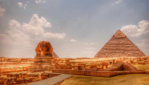 揭秘古埃及金字塔 狮身人面像真实主人(2)
