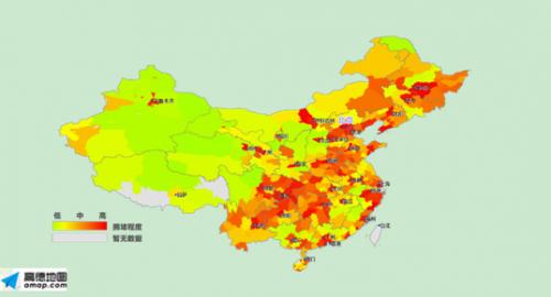 高德地图发布2015年度交通报告:城市拥堵全面恶化 堵城排行北京夺魁
