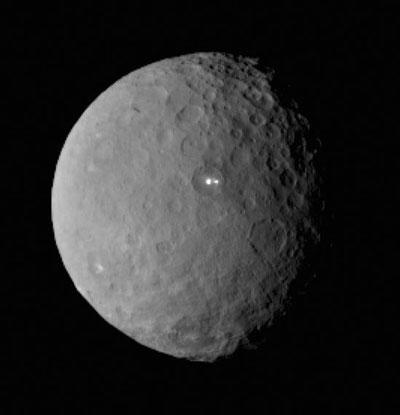 人类首探矮行星:黎明号将进入谷神星轨道