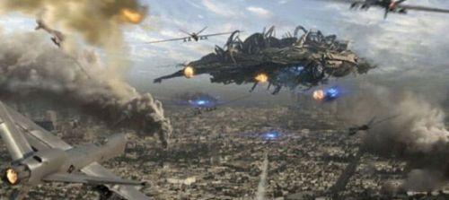外星人入侵想象图