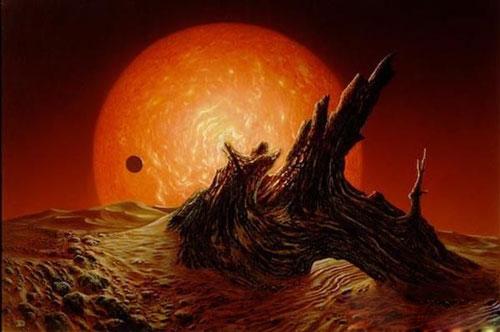科学研究发现太阳不断膨胀将导致地球末日