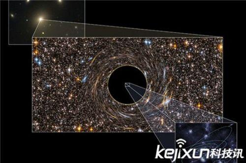 宇宙离奇理论被曝光 地球竟然存在与黑洞当中