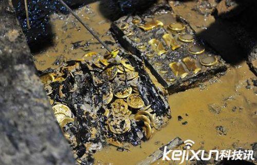 海昏侯古墓中出现的大量马蹄金,背后竟然有着这样的秘密