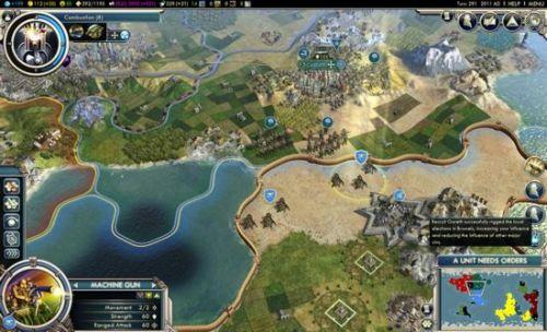《文明》系列:这款战略游戏在欧美市场大受欢迎,这不仅给设计者席德·梅尔和Microprose公司带来可观的收入,也为战略游戏迷们带来了一次前所未有的新奇体验。