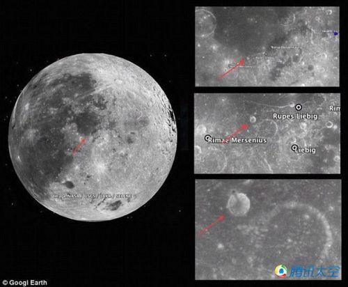 月球发现神秘尖塔 外星人的发射站!专家回应