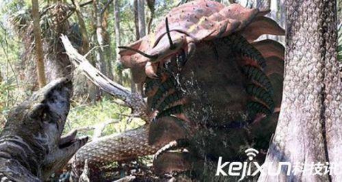 十大已灭绝恐怖巨型动物:上古碳龟头比球大