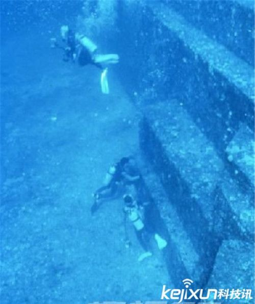 全球著名海底文明古城:日本海底发现巨型金字塔
