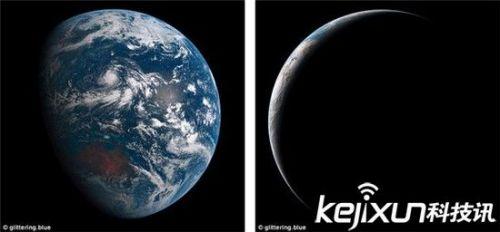 气象卫星眼中的地球:地质独特色彩