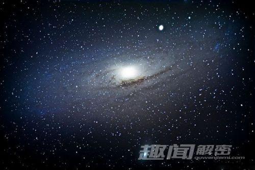 中央延伸星系盘一直延伸到外部宇宙空间的星系晕结构