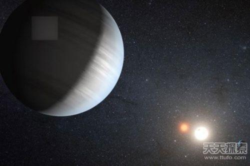 宇宙 鬼 星球 天空中有两个太阳