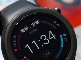 拥抱运动 新一代Moto 360运动版真机图赏