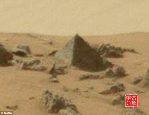 盘点这些年在火星上发现的神秘金字塔物体