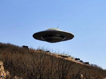 中国有人发明飞碟身大无穷力大无穷是真的吗?