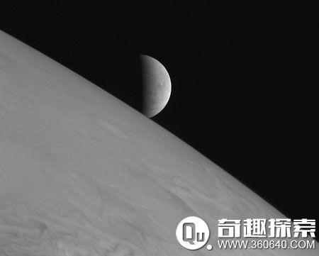 木星表面有高速飓风,风速达每小时400千米