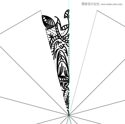 illustrator创建繁复之美的曼陀罗图案的详细教程(2)