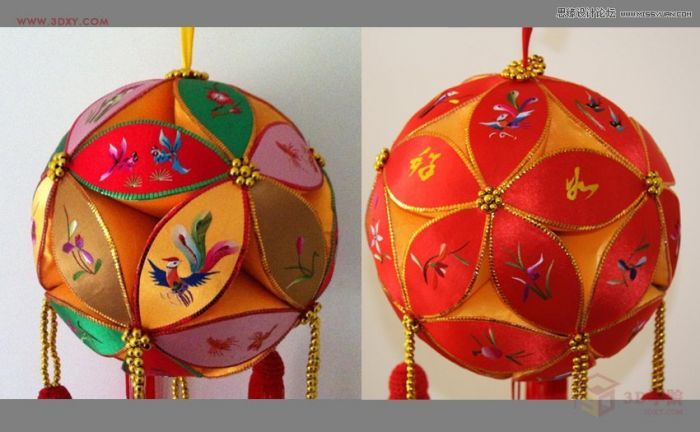 3dmax制作简单的绣球模型效果图的详细步骤