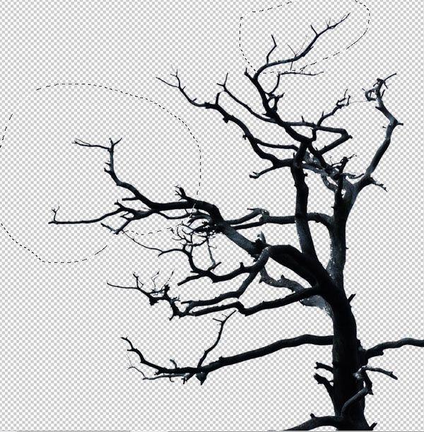 ps如何合成眼冒红光恐怖幽灵图片