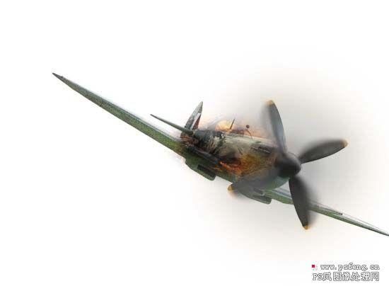 的老式战斗飞机图片